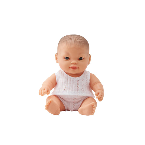 Little Baby Sam 21cm Doll by Paula Reina, available at Bobby Rabbit.