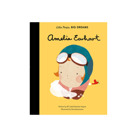 Little People, Big Dreams: Amelia Earhart, available at Bobby Rabbit.