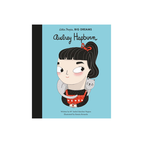 Little People Big Dreams: Audrey Hepburn in our Book collection, by Bookspeed available at Bobby Rabbit