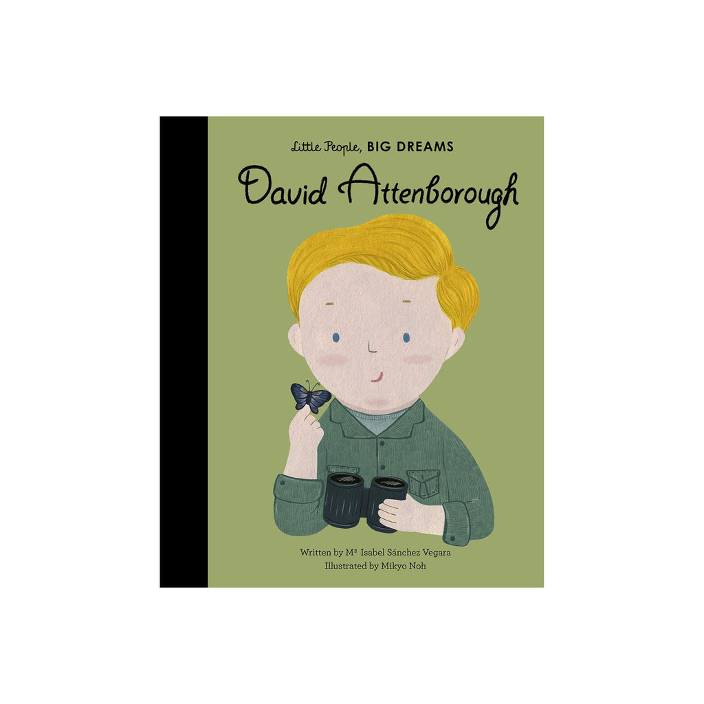 Little People, Big Dreams: David Attenborough, available at Bobby Rabbit.