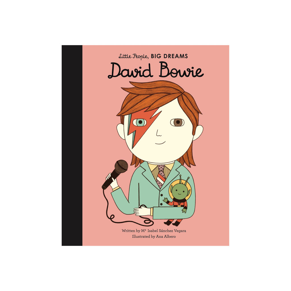 Little People, Big Dreams: David Bowie, available at Bobby Rabbit.