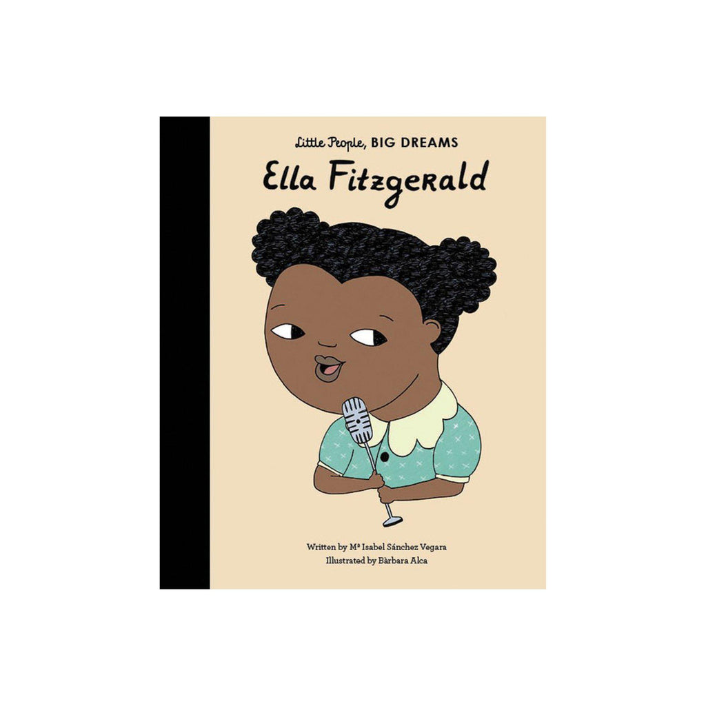 Little People, Big Dreams: Ella Fitzgerald, available at Bobby Rabbit.