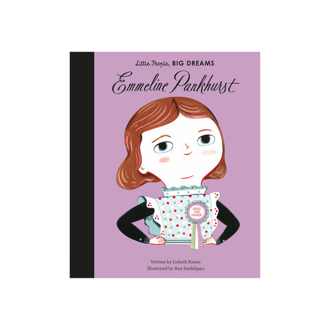 Little People, Big Dreams: Emmeline Pankhurst, available at Bobby Rabbit.