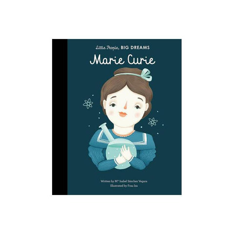Little People, Big Dreams: Marie Curie, available at Bobby Rabbit.