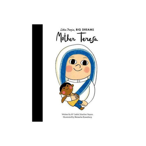 Little People, Big Dreams: Mother Teresa, available at Bobby Rabbit.
