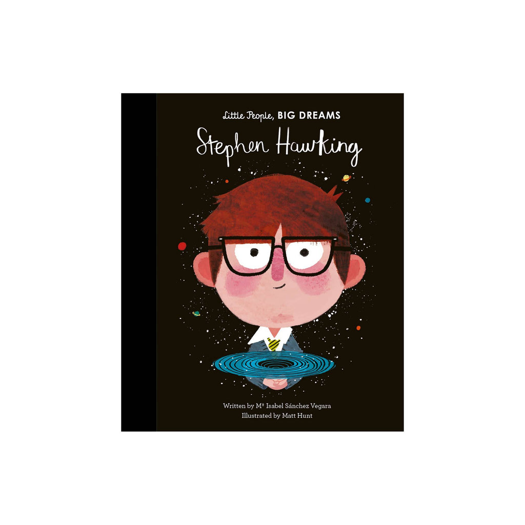 Little People, Big Dreams: Stephen Hawking, available at Bobby Rabbit.