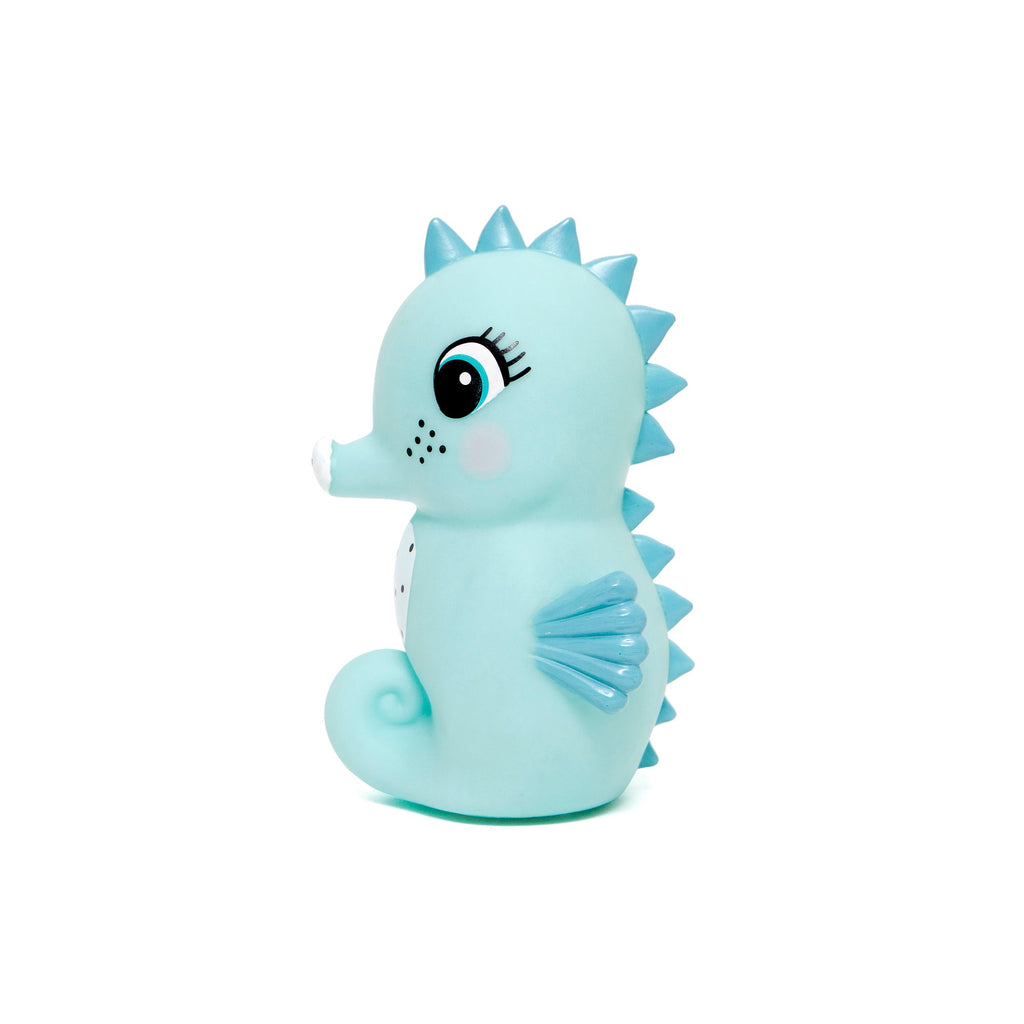 Blue Little Seahorse Light by Petit Monkey, perfect as a bedside light or night light. Available at Bobby Rabbit.