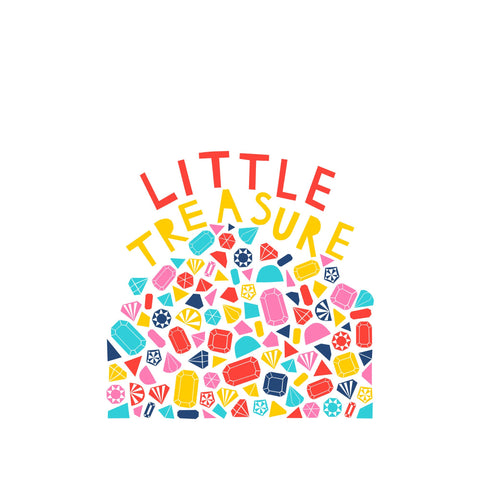 Little Treasure Print in our 30 X 40Cm Print collection, by Alison Hardcastle For Bobby Rabbit available at Bobby Rabbit