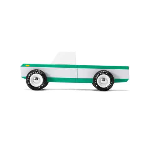 Longhorn wooden vehicle by Candylab, available at Bobby Rabbit.