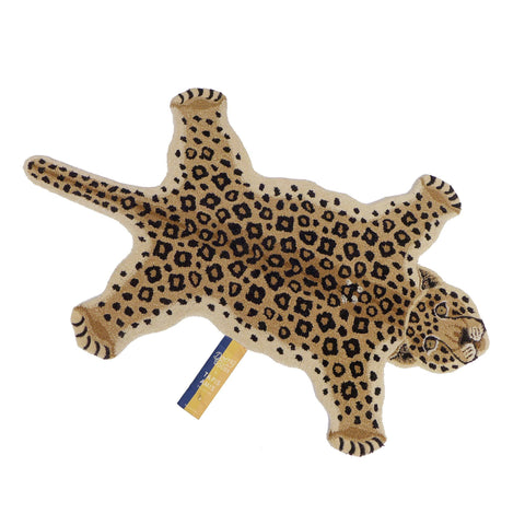 Loony Leopard Rug (Large) by Doing Goods, available at Bobby Rabbit.