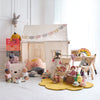 €˜Secret Garden€™ Children€™s Playroom with Play Tent, Toys and Accessories, styled by Bobby Rabbit.