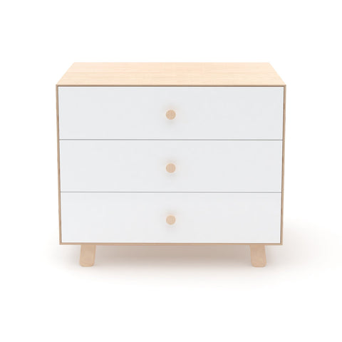 Merlin 3 Drawer Sparrow Dresser Birch in our DS - Children's Chest Of Drawers collection, by Oeuf Nyc available at Bobby Rabbit