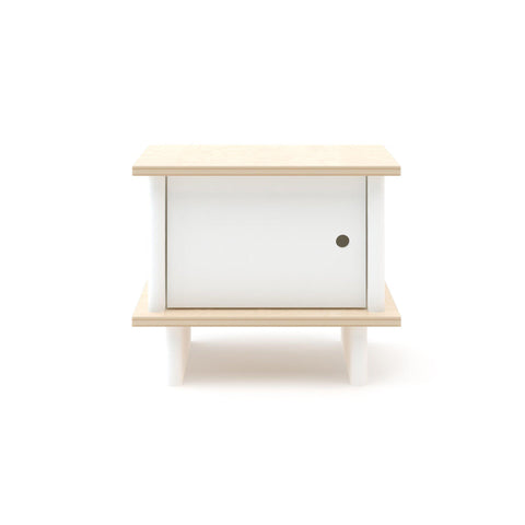 Mini Library Children's Bedside Table, designed and made by Oeuf NYC and available at Bobby Rabbit.
