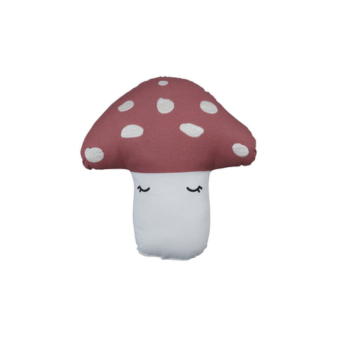 Mini Mushroom Cushion by Fabelab, available at Bobby Rabbit.