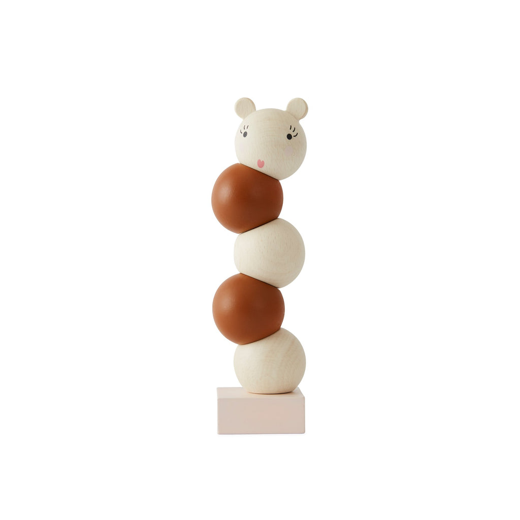 Wooden Stacking Miss Lala Toy by Oyoy, available at Bobby Rabbit.
