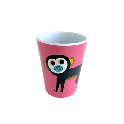 Melamine Monkey Cup, designed by Ingela P. Arrhenius for OMM Design and available at Bobby Rabbit.