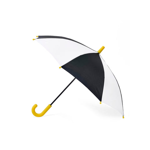 Monochrome Umbrella by Hipsterkid, available at Bobby Rabbit.