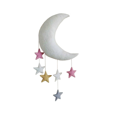 Moon and Stars Mobile by Fiona Walker England, available at Bobby Rabbit.