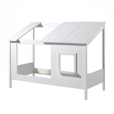 'My Summer House' White Cabin Bed in Single Size by Vipack, available at Bobby Rabbit.