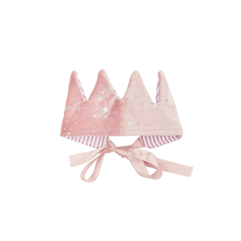 Mystical crown - pink - super soft velvet crown by Mimi and Lula, available at Bobby Rabbit.