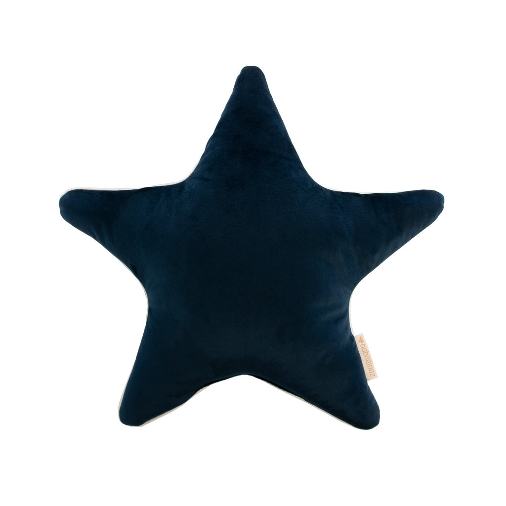 Aristote Star Velvet Cushion by Nobodinoz, available at Bobby Rabbit.