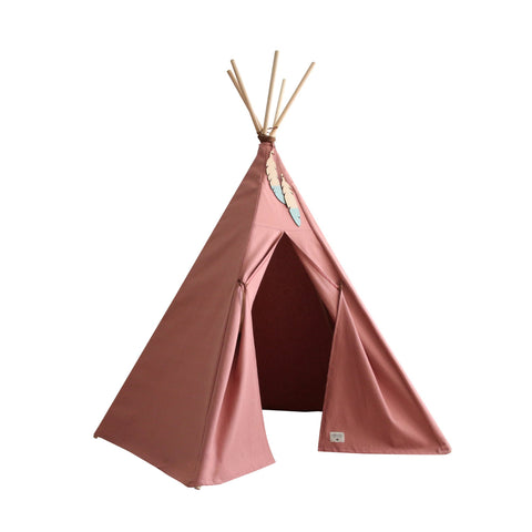 Nevada Teepee Tent - Dolce Vita Pink by Nobodinoz, available at Bobby Rabbit.