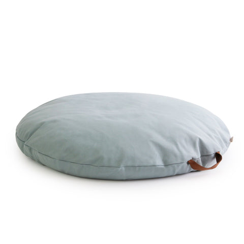 Sahara Bean Bag - Riviera Blue by Nobodinoz, available at Bobby Rabbit.