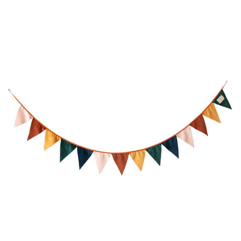Savanna Velvet Garland by Nobodinoz, available at Bobby Rabbit.
