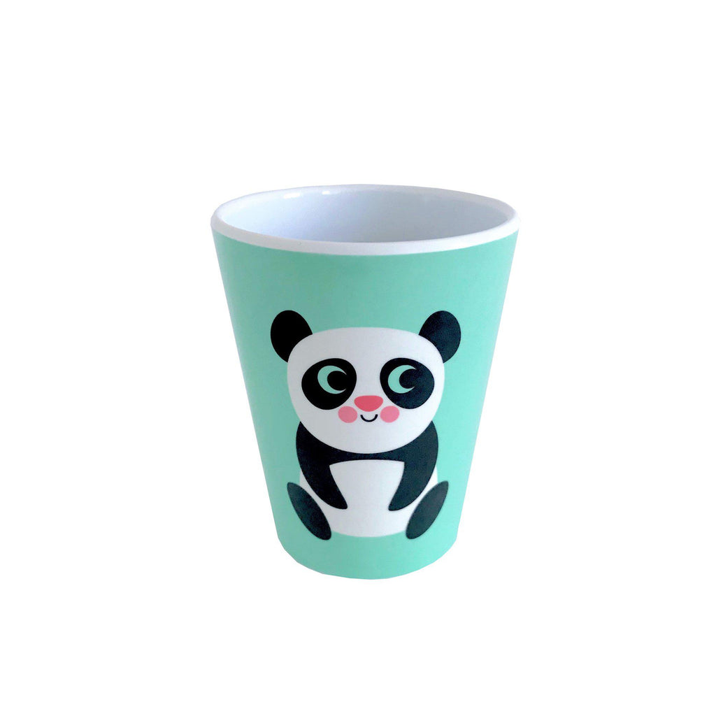Melamine Panda Cup, designed by Ingela P. Arrhenius for OMM Design and available at Bobby Rabbit.