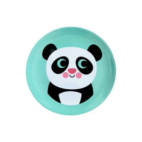 Melamine Panda Plate, designed by Ingela P. Arrhenius for OMM Design and available at Bobby Rabbit.