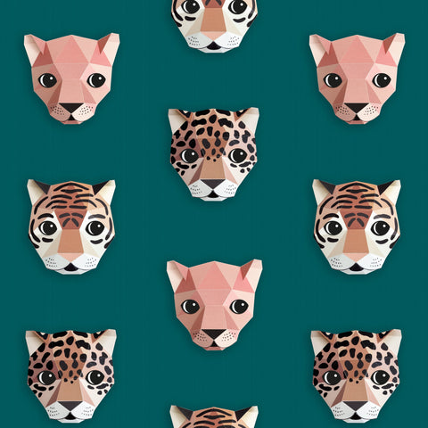 Panthera Wallpaper by Studio Ditte, available at Bobby Rabbit