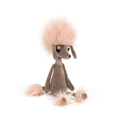 Swellegant Penelope Poodle Soft Toy, designed and made by Jellycat and available at Bobby Rabbit.