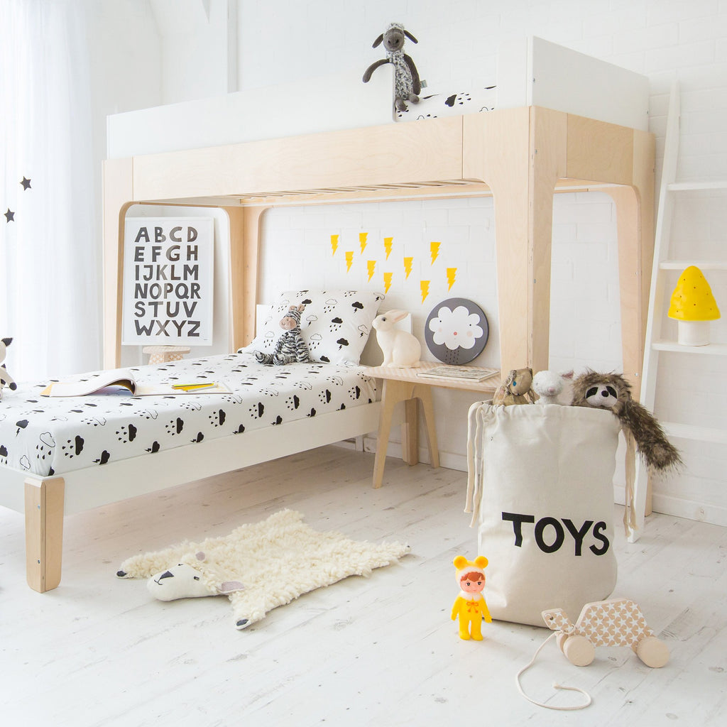 Perch Bunk Bed Birch Ds Convertible Bunk And Loft Bed Oeuf Nyc Bobby Rabbit