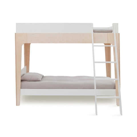 Stunning Perch loft bed and children's bunk bed by Oeuf NYC, available at Bobby Rabbit.