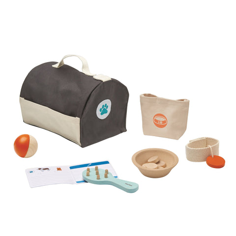 Pet Care Set by Plantoys, available at Bobby Rabbit.
