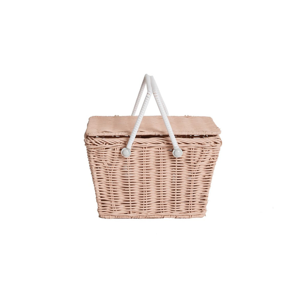 Rose Piki Basket by Olli Ella, available at Bobby Rabbit.