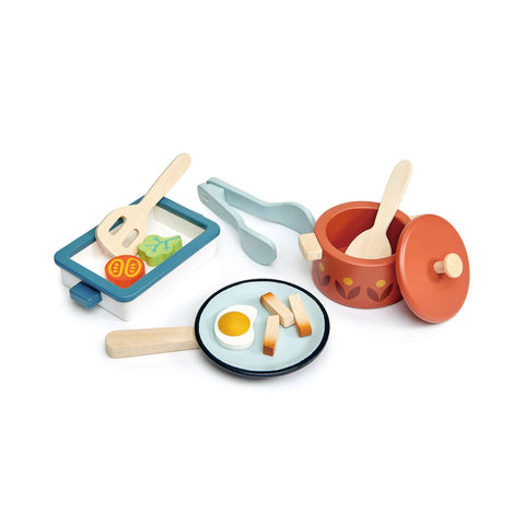 Pots and Pans in our Wooden Toy collection, by Tender Leaf Toys available at Bobby Rabbit