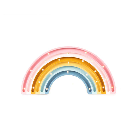 Rainbow Lamp by Little Lights, available at Bobby Rabbit.