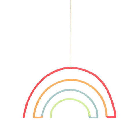 Rainbow Wall Decoration by Meri Meri, available at Bobby Rabbit.