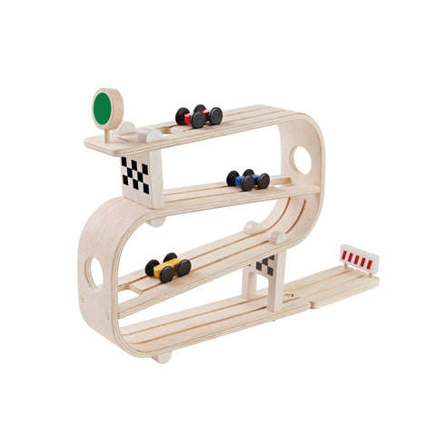 Ramp Racer by Plantoys, available at Bobby Rabbit.