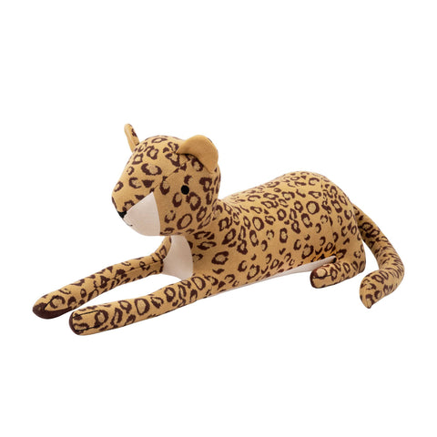 Rani Leopard Toy Cushion by Meri Meri, available at Bobby Rabbit.