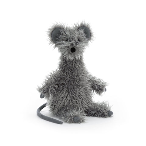 Remington Rat soft toy, designed and made by Jellycat and available at Bobby Rabbit.