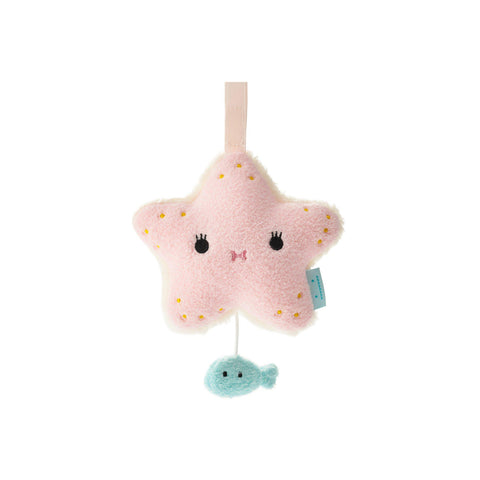 Ricecoral Musical Starfish Mobile by Noodoll, available at Bobby Rabbit.