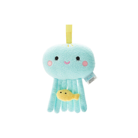 Ricejelly Musical Jellyfish Mobile by Noodoll, available at Bobby Rabbit.