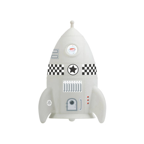 Rocket Night Light with Stickers by A Little Lovely Company, available at Bobby Rabbit.