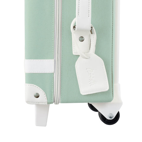 Mint See-Ya Suitcase by Olli Ella, available at Bobby Rabbit.