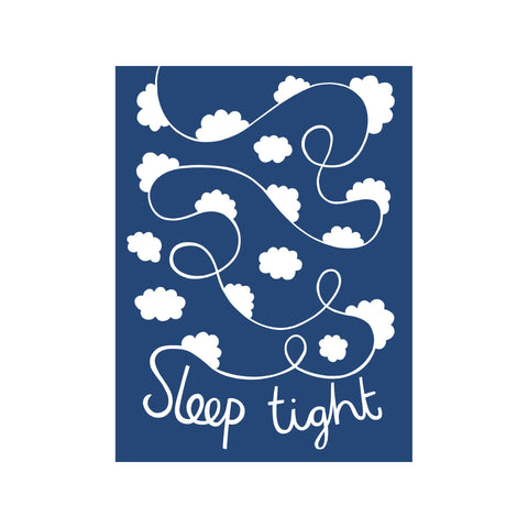 Sleep Tight Print in our 30 X 40Cm Print collection, by Alison Hardcastle For Bobby Rabbit available at Bobby Rabbit