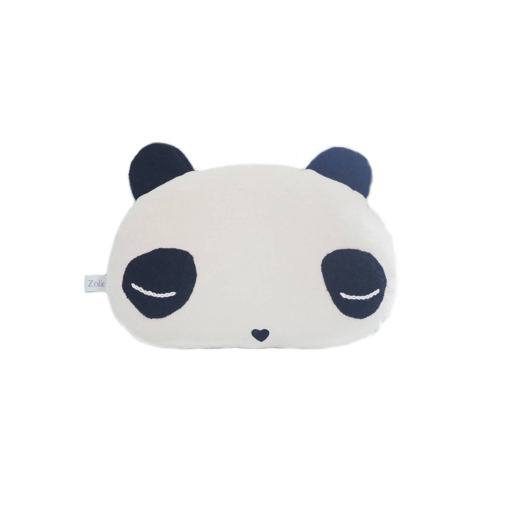 Sleepy Panda Animal Cushion by Caro & Zolie, available at Bobby Rabbit.