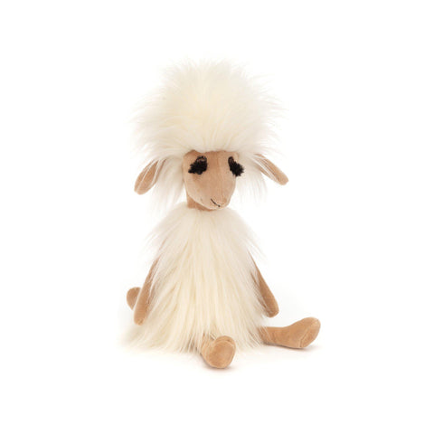 Swellegant Sophie Sheep Soft Toy, designed and made by Jellycat and available at Bobby Rabbit.
