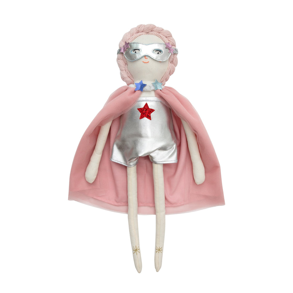 Superhero Doll Dress Up Set by Meri Meri, available at Bobby Rabbit.